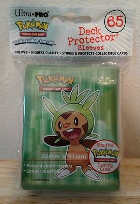Ultra Pro Pokemon Chespin protector card sleeves