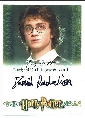 Harry Potter World Of 3D Series 1 Autograph Daniel Radcliffe as Harry Potter