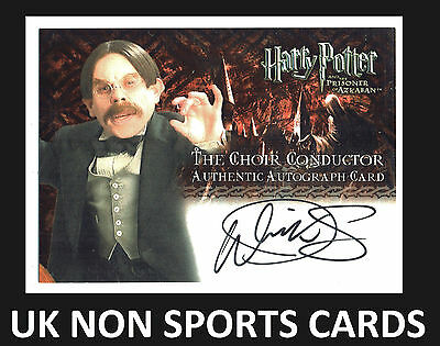 Harry Potter Prisoner Of Azkaban Upd Autograph Warwick Davis as Choir Conductor