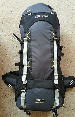 Berghaus Verden 65+10 Litre Rucksack Bergan Backpack Walking Hiking Camping