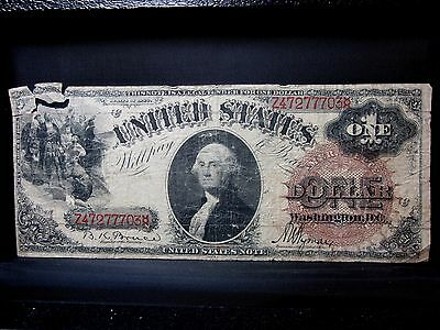 1880 $1 United States Note ✪ Vg Very Good ✪ Large Brown Seal Fr-30 ◢Trusted◣