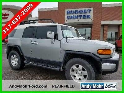 2010 Toyota FJ Cruiser Base Sport Utility 4-Door Used 10 Toyota FJ Cruiser 4L V6 Auto 4x4 SUV Roof Rack Silver Cloth Reserve