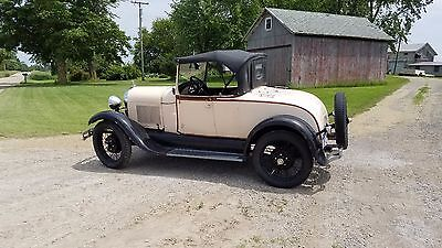 1929 Ford Model A  1929 Ford Model A Standard Roadster All-Original