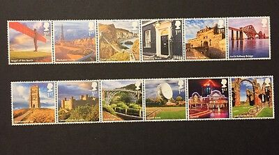 GB 2011 A to Z of Britain Part 1 MNH Stamps SG 3230-3241