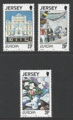 Jersey 1993 Europa/Contemporary Art--Attractive Topical (631-33) MNH
