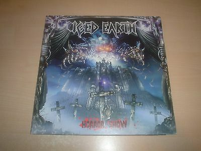 ICED EARTH Horror show 2LP Blue vinyl Gatefold 1st PRESS Century Media 2001