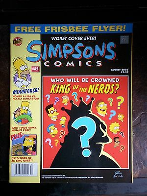 The Simpsons Comics #82 - August 2003