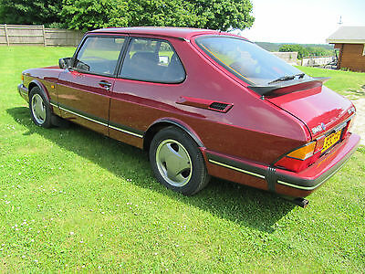 Saab 900 Ruby T16S Very - Low Mileage And Completely Original