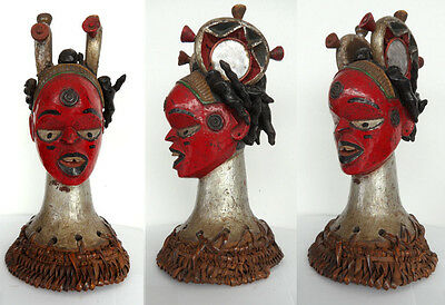 Finest old Idoma head old Germany collection