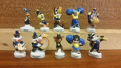fèves série complète warner parade 2000 rare lot collection looney tunes bros wb