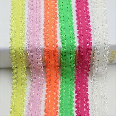 infOUK colored elastic bilateral embroidered ribbon 20mm wedding dress