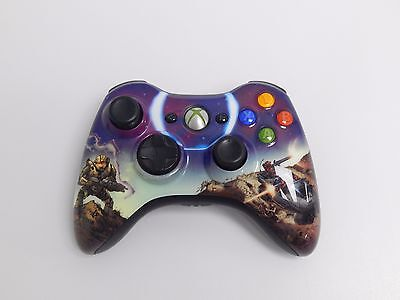 Genuine Microsoft Xbox 360 Halo 3 Spartan Limited Edition Wireless Controller