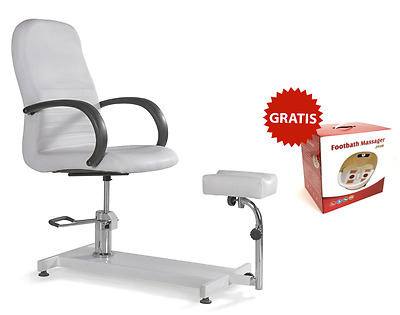 POLTRONA PODOLOGICA PEDICURE ESTETICA MASSAGGIO PIEDE LETTINO make up studio new