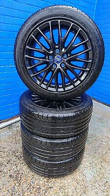 "2015 Genuine Ford Focus ZETEC 17"" INCH Alloy Wheels With Used Tyres"