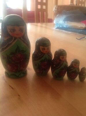 Russian 5pieces doll