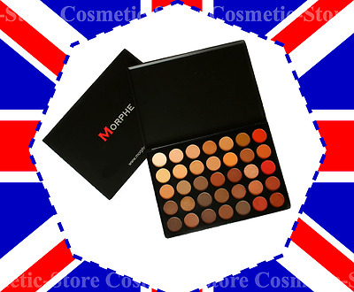 Brand New MORPHE BRUSHES 35O 350 EYESHADOW MAKE UP PALETTE SHADOW NATURE GLOW