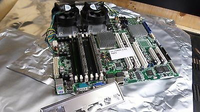 ASUS DSBV-DX Server Motherboard w/ 2x Xeon E5410 2.33GHz 4GB RAM }