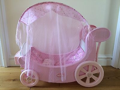Baby Annabell Pram And Rocking Cot