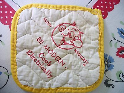 Vintage Reddy Kilowatt Magnetic Potholder