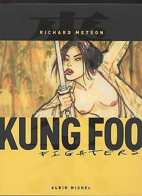 Bd Kung Foo Fighters  Richard Metson Dessin Erotique