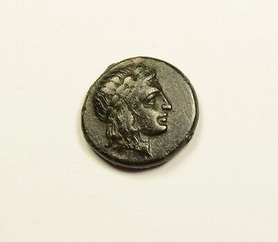 Kolophon in Ionia 360BC Apollo and Horse on Authentic Ancient Greek Coin