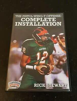 Championship Productions Rick Stewart-The Pistol Wing-T Offense: Complete Instal