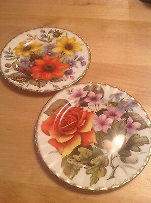 vintage bone china made in england plates