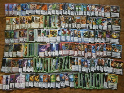 Lot of trading cards CHAOTIC about 180 cards + case