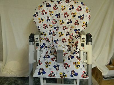 Prima Pappa Highchair Diner Cover In Minnie And Mickey ~NICE~ See Descript