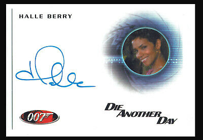 James Bond 50th Anniversary Series 2 Autograph Card A207 Halle Berry as Jinx