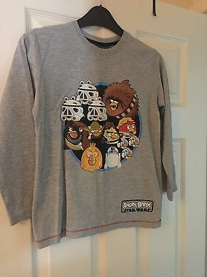 Next - Angry birds Star Wars T Shirt - 7 Years
