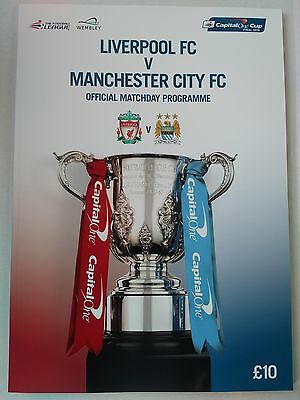 2016 Capital One Cup Final Liverpool v Manchester City Mint. CHEAPEST ON EBAY
