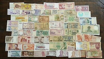 World banknotes collection..