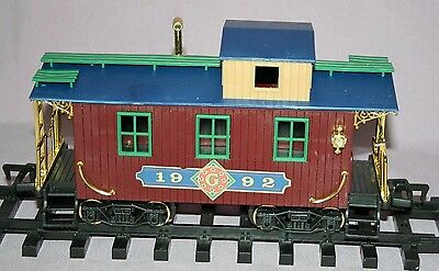 New Bright Caboose GREATLAND HOLIDAY EXPRESS TRAIN 1992