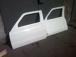 BMW E30 Coupe Lightweight FRP Doors L+R with FRAME ONLY FOR MOTORSPORT
