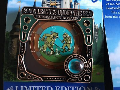 Disney NEW Piece of history pin 20000 Leagues Under the Sea Submarine Voyage.