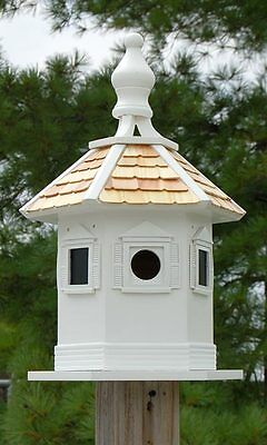 New Home Bazaar Enchantment Bird House Outdoor Garden Decor For Songbird Lovers