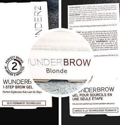 WUNDERBROW sourcil semi permanent GEL durable blonde neuf