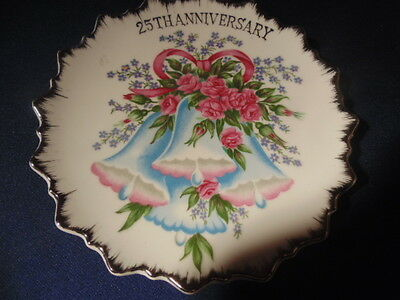 25Th Anniversary Hanging Plate.