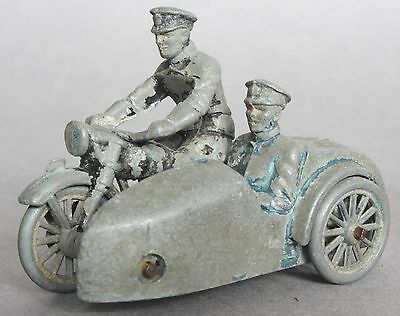 BHL (British Home Life) 1950s Police Motorbike And Sidecar