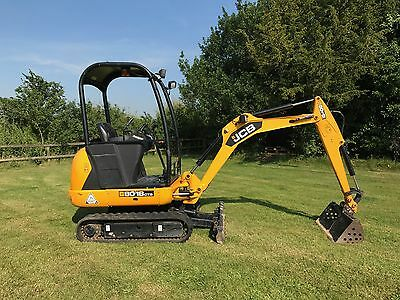 JCB 8018 CTS Excavator Mini Digger - Only 352 Hours