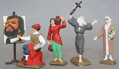 Cafe Storm Koffe Named Painted Plastic 54mm Figures