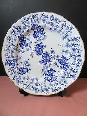 Royal Worcester blue and white plate