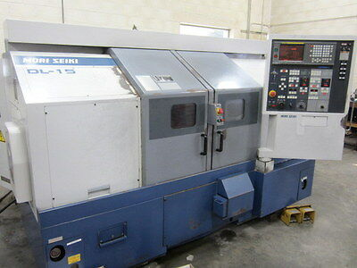 Mori Seiki DL-15 CNC Turning Center
