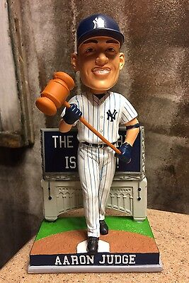 "AARON JUDGE New York Yankees MLB Rookie EXCLUSIVE 10"" Bobblehead NIB #/216"