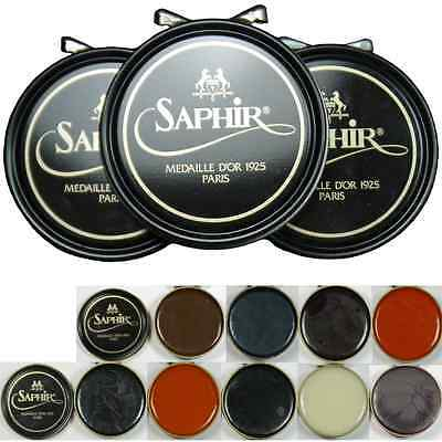 Shoe Polish Saphir Medaille d'Or  the premium shoe cream from France  all colors
