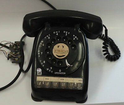 MULTI LINE ROTARY #564 PHONE in black