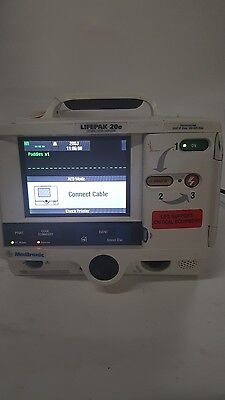 Physio-Control Lifepak 20e Biphasic clean unit no paddles