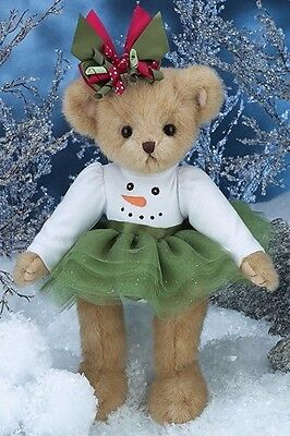 Bearington Bears Holiday Finley Flurry and Freddy Freeze Retired NWT