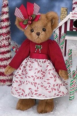 Bearington Bears Holiday Collection Merry Mint - Retired New With Tags